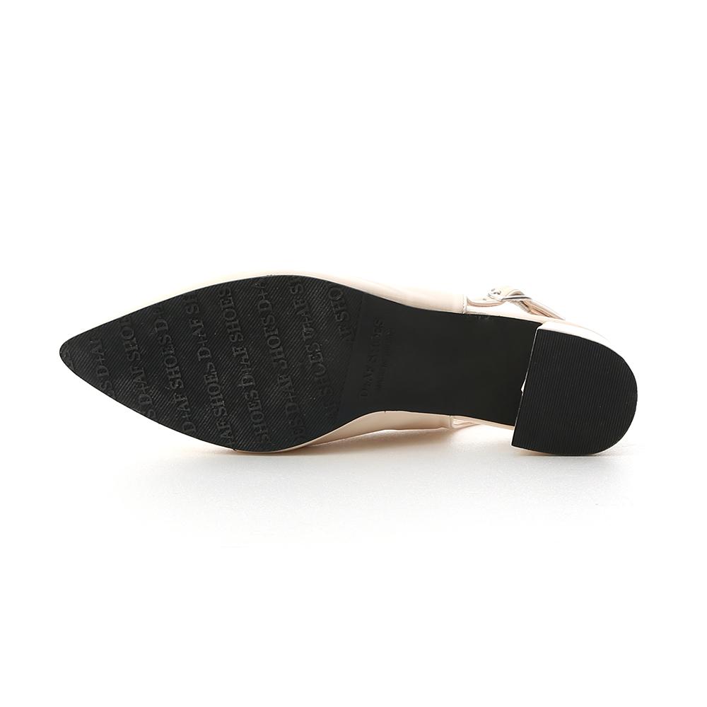Pointed Toe Slingback Pumps Vanilla