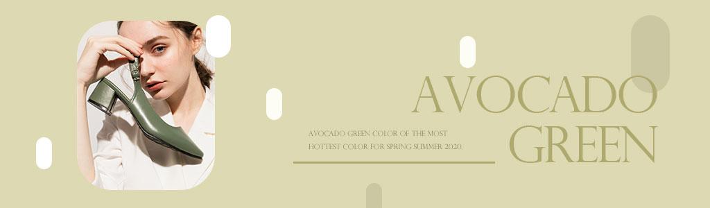 夏日時尚清新酪梨綠女鞋推薦,更多時尚色系女鞋盡在D+AF官方購物網站。