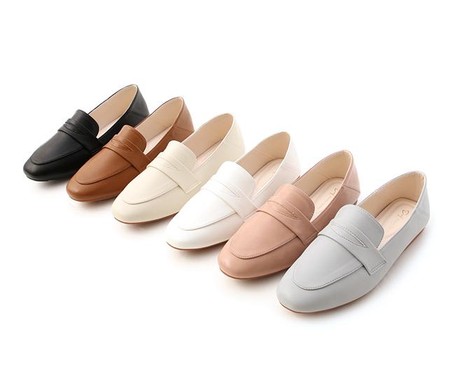 舒服日常.超軟Q經典款樂福鞋 櫻花粉