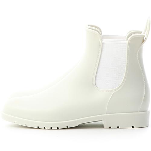 D+AF 晴雨二穿.側鬆緊切爾西短雨靴.