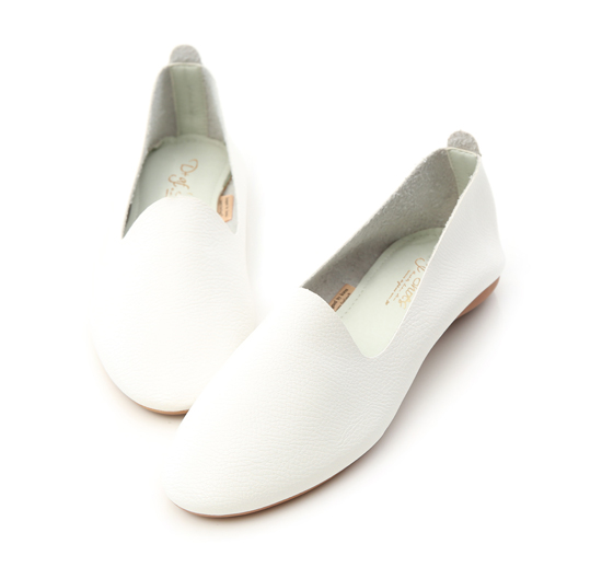 Extreme Soft Leather Loafers White