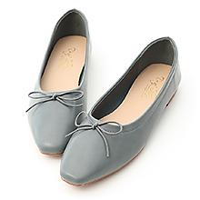 D+AF 典雅美感.小方頭芭蕾平底娃娃鞋