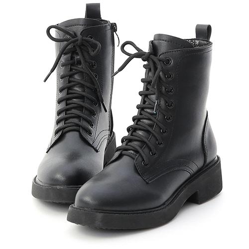 D+AF 街頭型人.加厚鞋底中筒馬汀靴