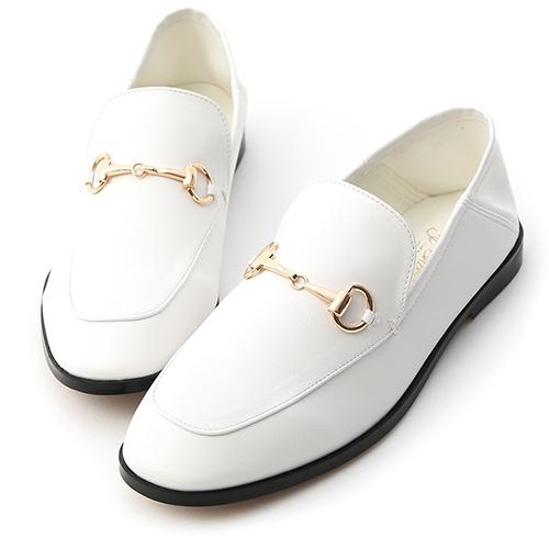 上質品味.馬銜釦後踩式二穿紳士便鞋