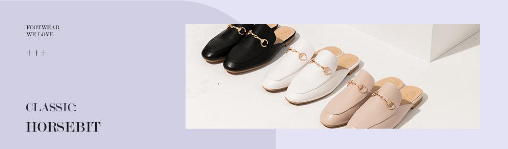 馬銜扣鞋推薦!經典馬銜扣鞋面設計,整體質感大大提升!馬銜扣樂福鞋、穆勒鞋等各式馬銜扣女鞋鞋款盡在D+AF官方購物網站。