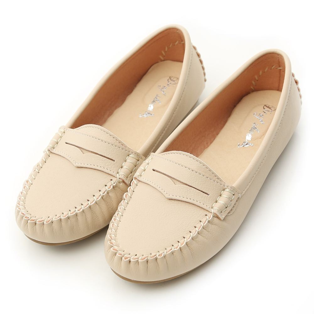 MIT Comfy Moccasins Off-White