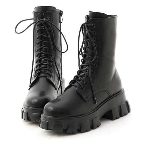 酷派個性.超輕量綁帶鋸齒靴