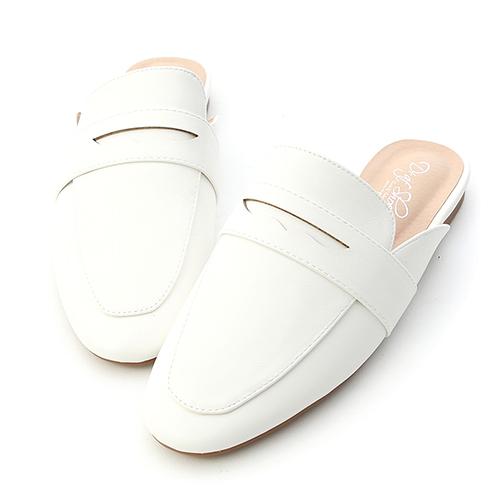 簡單品味.經典款平底穆勒鞋
