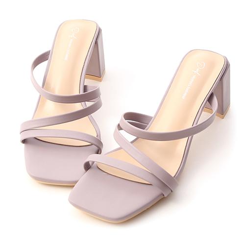 夏日焦點.Z字細帶顯瘦高跟涼鞋