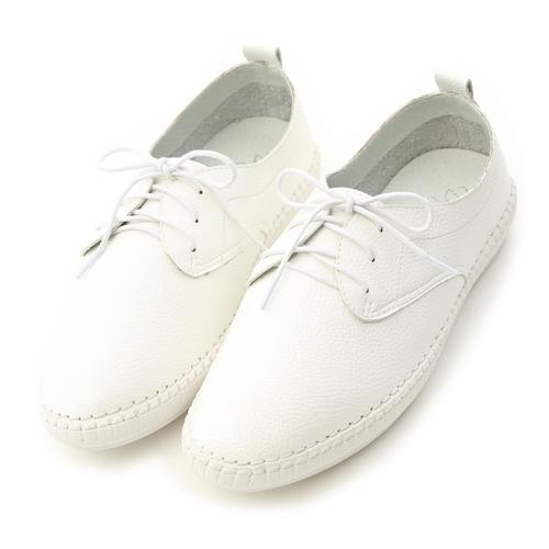 樂活舒適.超軟縫線底休閒牛津鞋