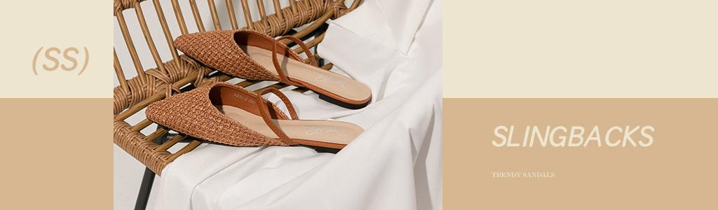 後空鞋(前包涼鞋 )推薦!後空的設計兼具涼鞋與包鞋的優點,不露趾涼鞋,尖頭後空平底鞋、後空中跟鞋、方頭後空低跟鞋等各式前包涼鞋、後空女鞋鞋款盡在D+AF官方購物網站。