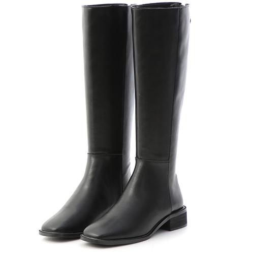 D+AF 絕對風潮.金屬拉鍊顯瘦感長靴