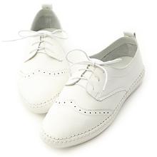D+AF 舒活印象.超軟縫線底雕花牛津鞋