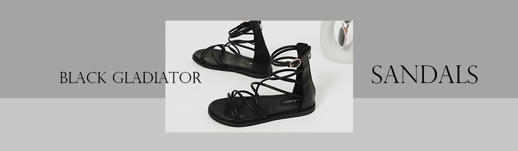 暗黑個性涼鞋