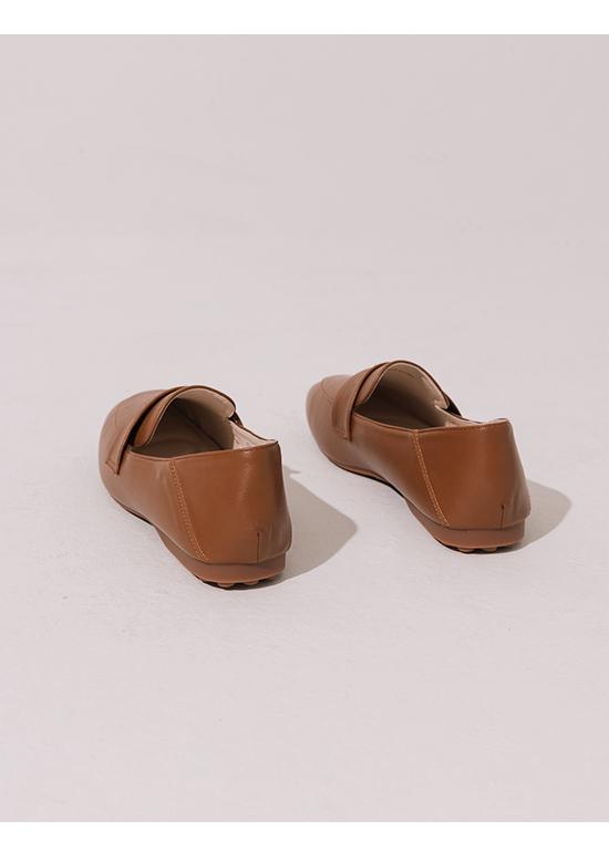 舒服日常.超軟Q經典款樂福鞋 焦糖棕