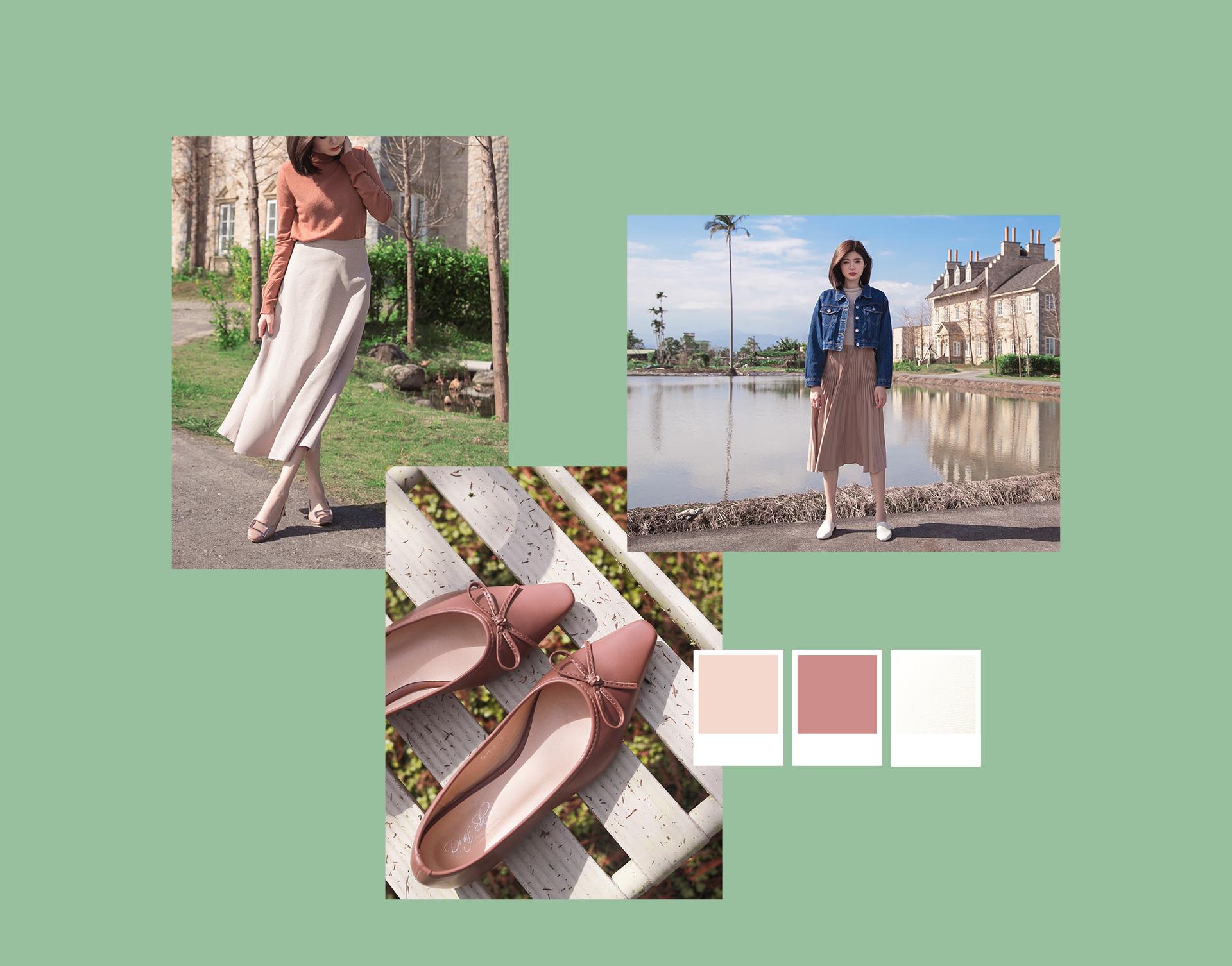 春天流行色穿搭 早春新品人氣熱銷女鞋鞋款 新款春鞋