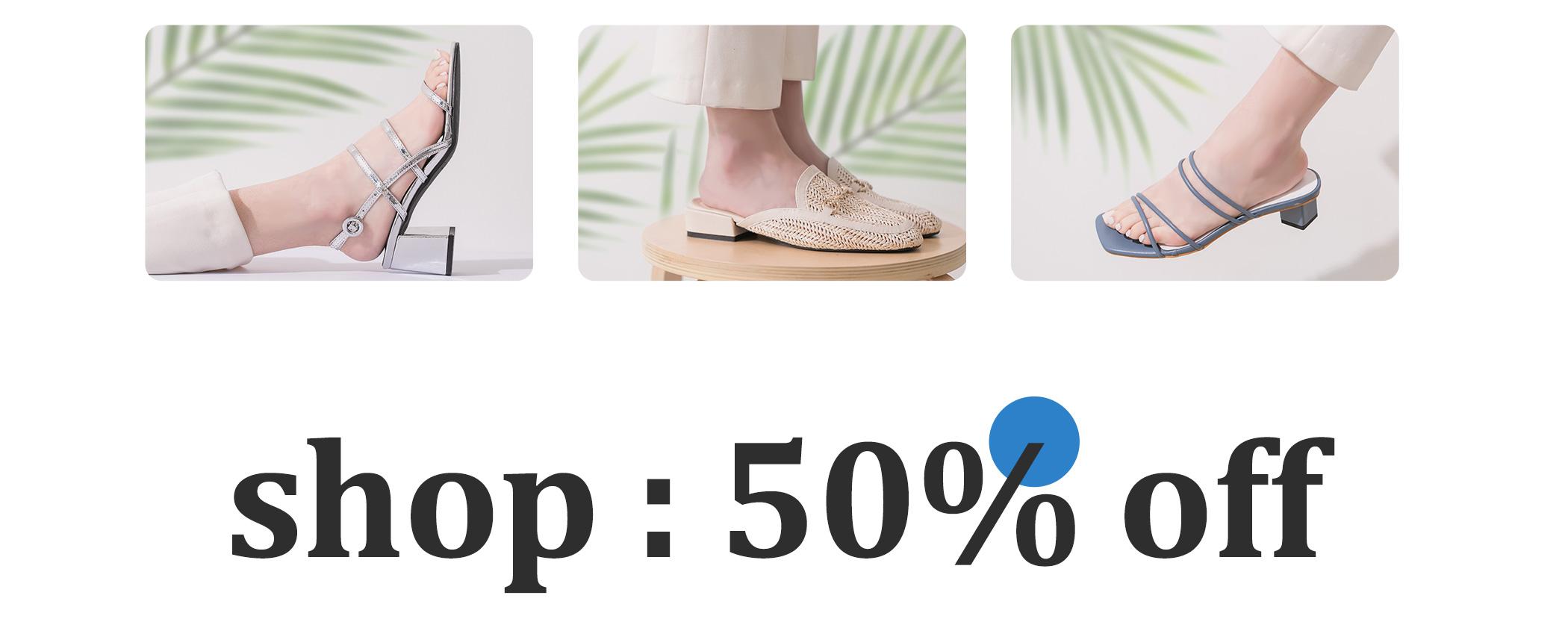 D+AF 618夏日狂歡5折up 涼鞋