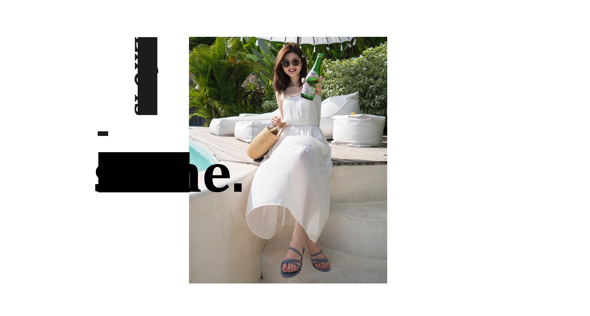 2019 D+AF峇里島夏季女鞋拍攝特輯