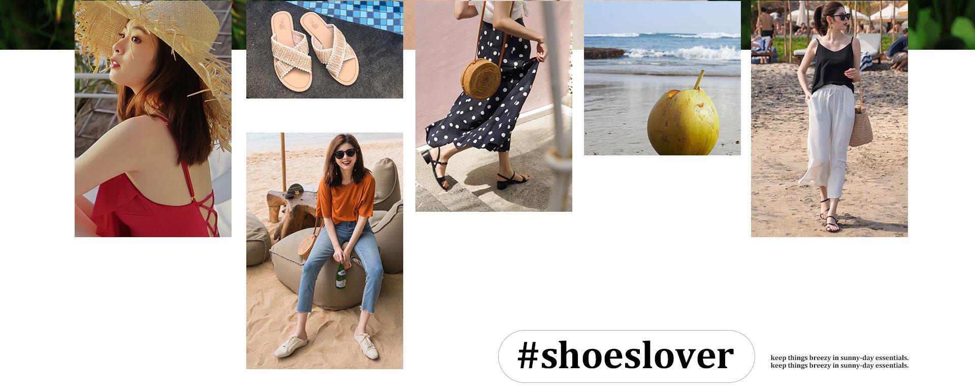 2019 D+AF x Alley峇里島夏季女鞋拍攝特輯 涼鞋 穆勒鞋
