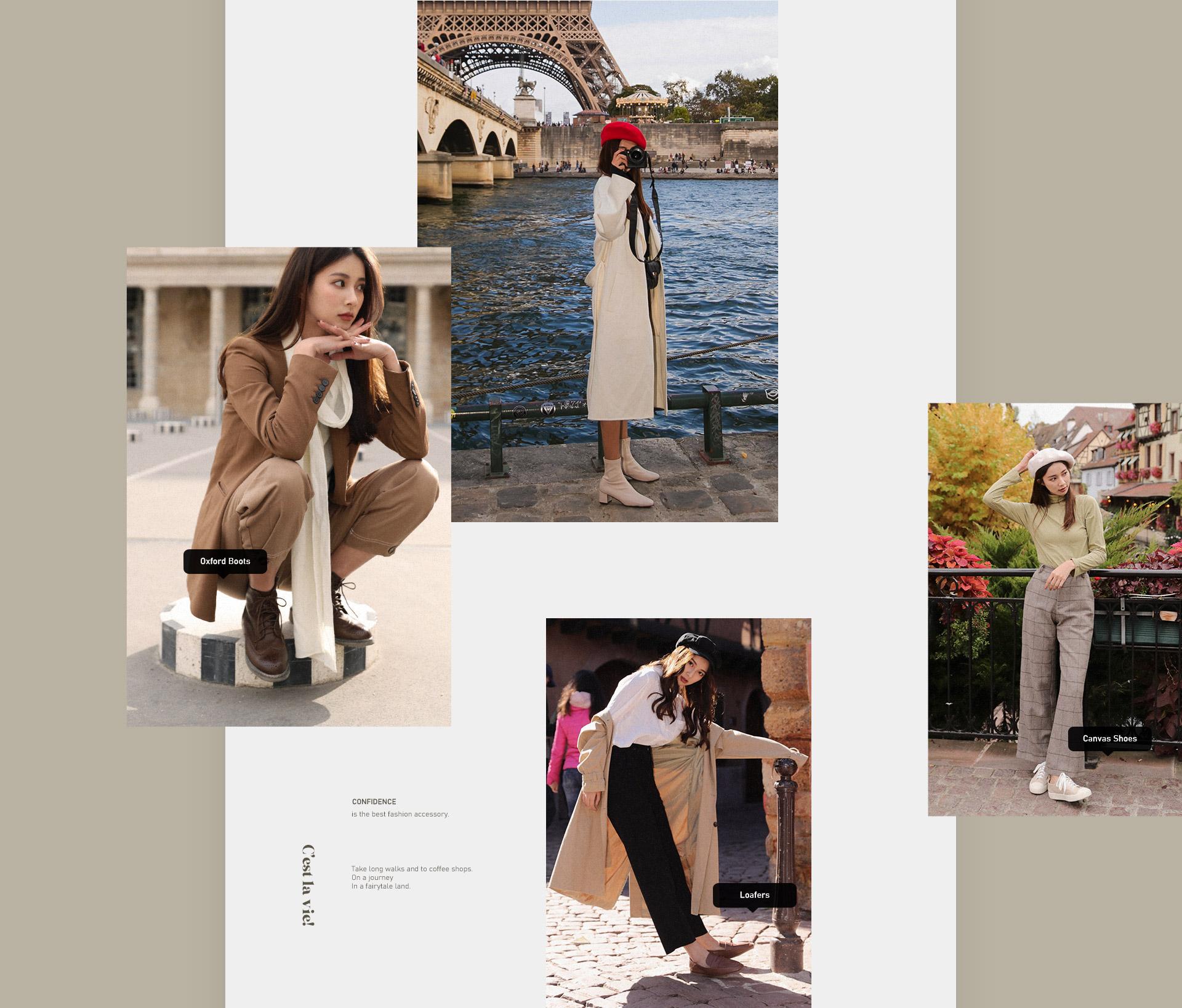 D+AF 2019秋冬女鞋 女靴 襪靴 短靴 樂福鞋 帆布鞋