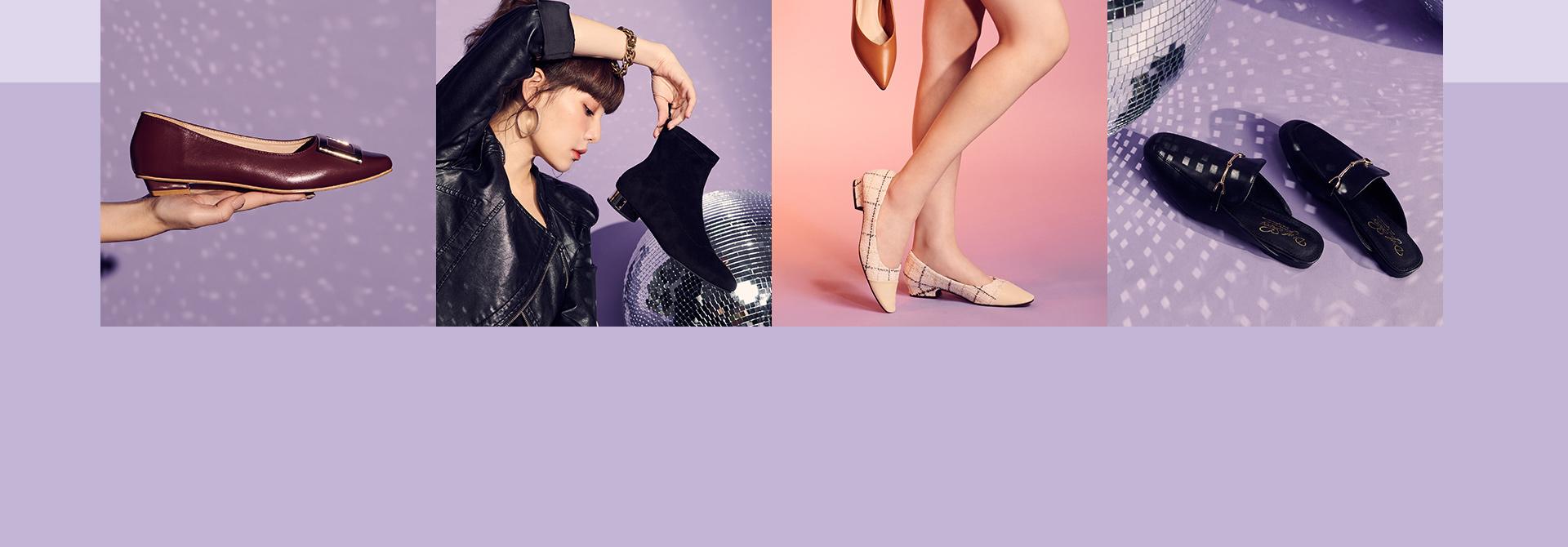 2019-2020 秋冬女鞋女靴推薦 穆勒鞋 短靴 低跟鞋