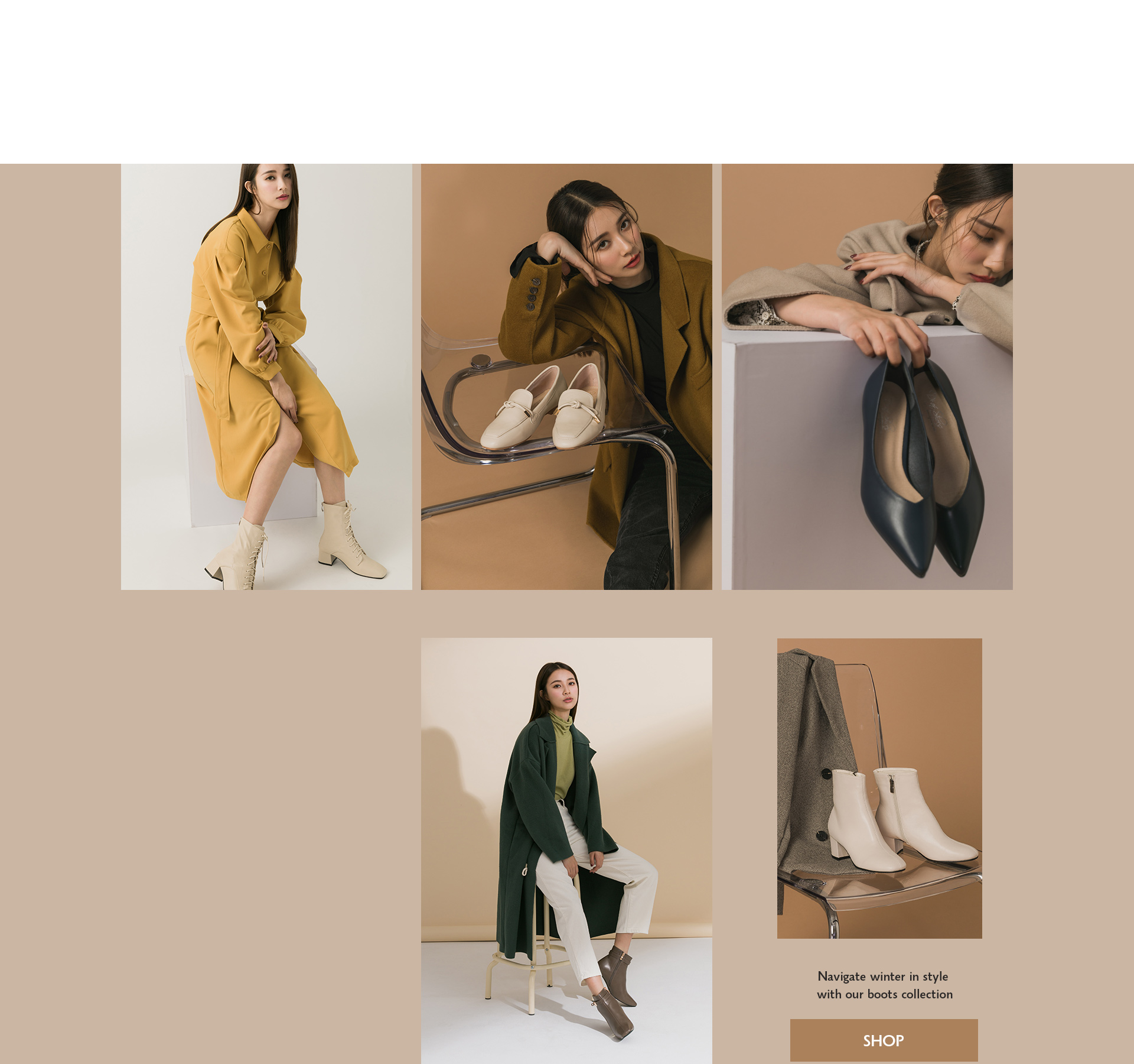 秋冬鞋款推薦 靴款推薦 白靴 樂福鞋 跟鞋 短靴