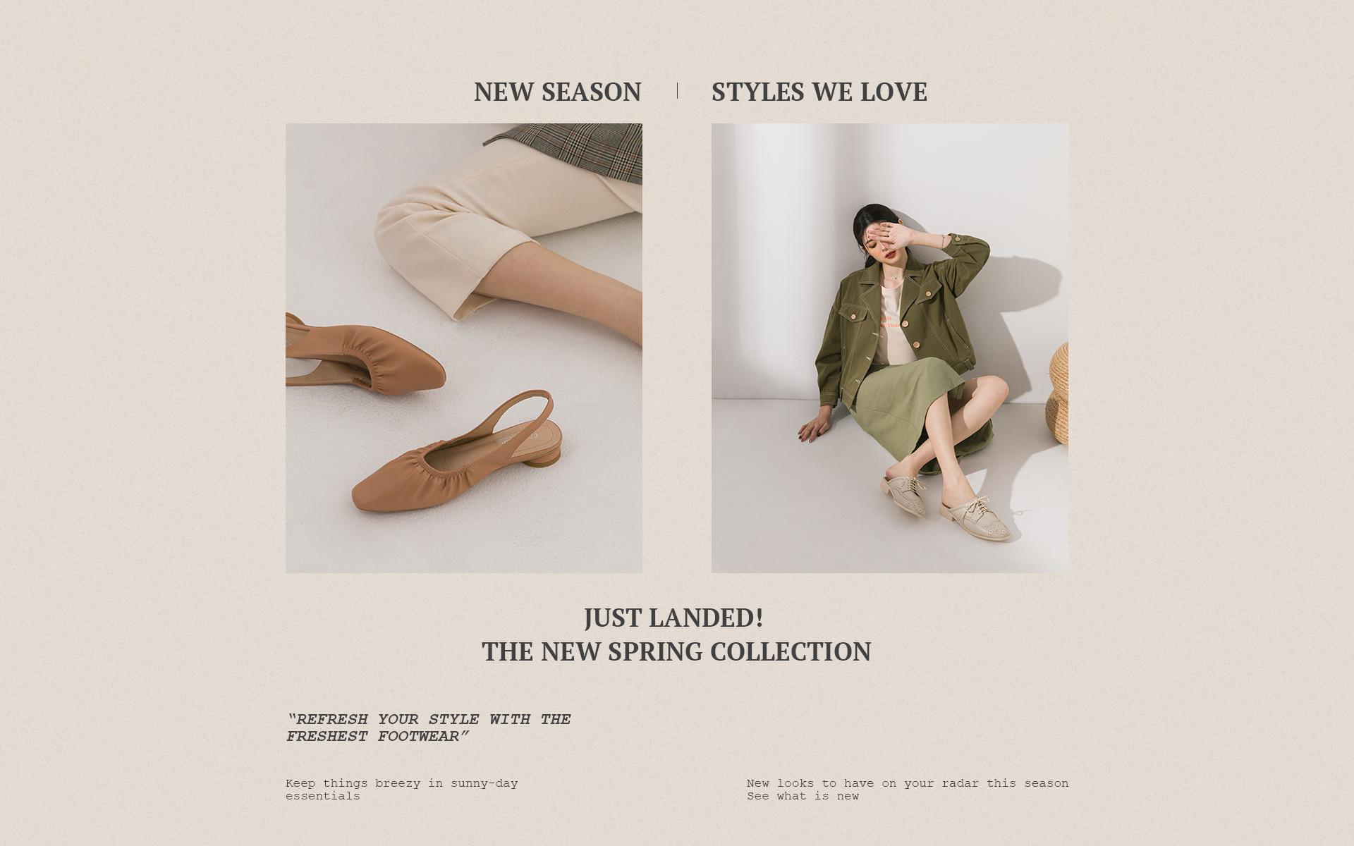 D+AF 2020春夏流行女鞋 春夏鞋款推薦 後空鞋 穆勒鞋