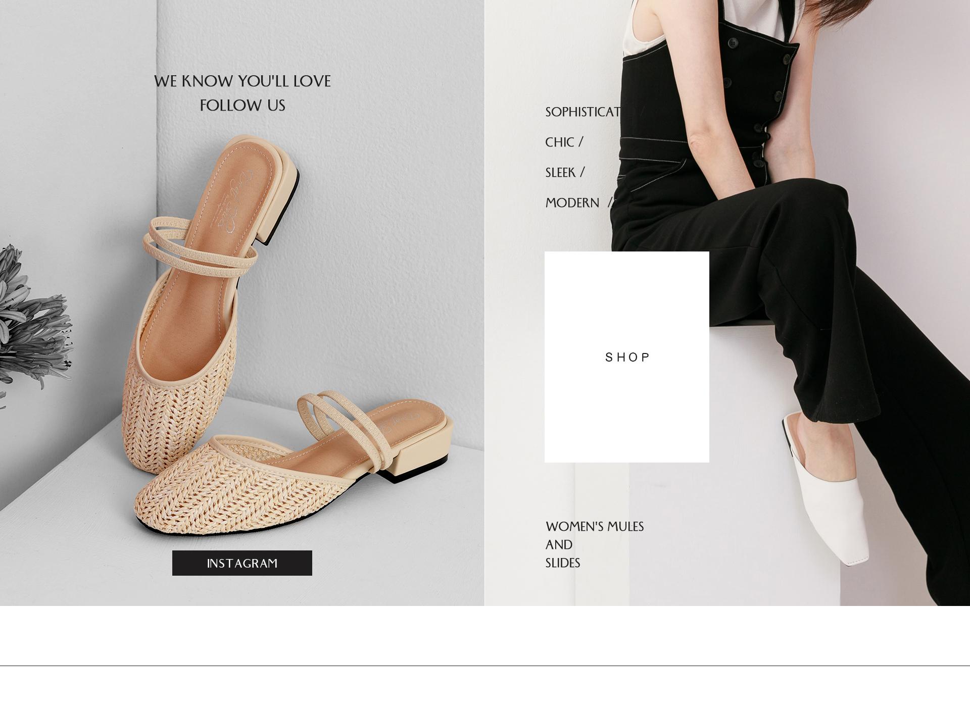 探索更多D+AF Instagram 2020女鞋 春夏鞋款推薦 穆勒鞋
