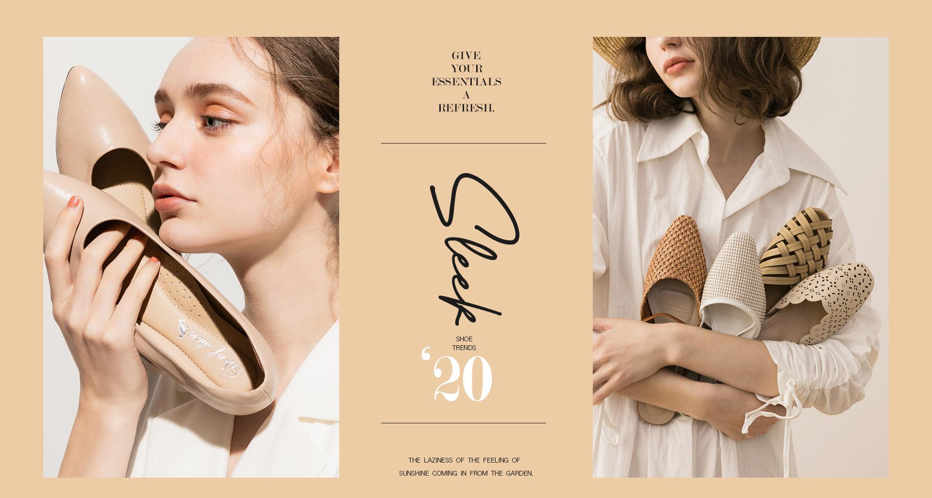 D+AF 2020夏季流行女鞋 春夏鞋款推薦