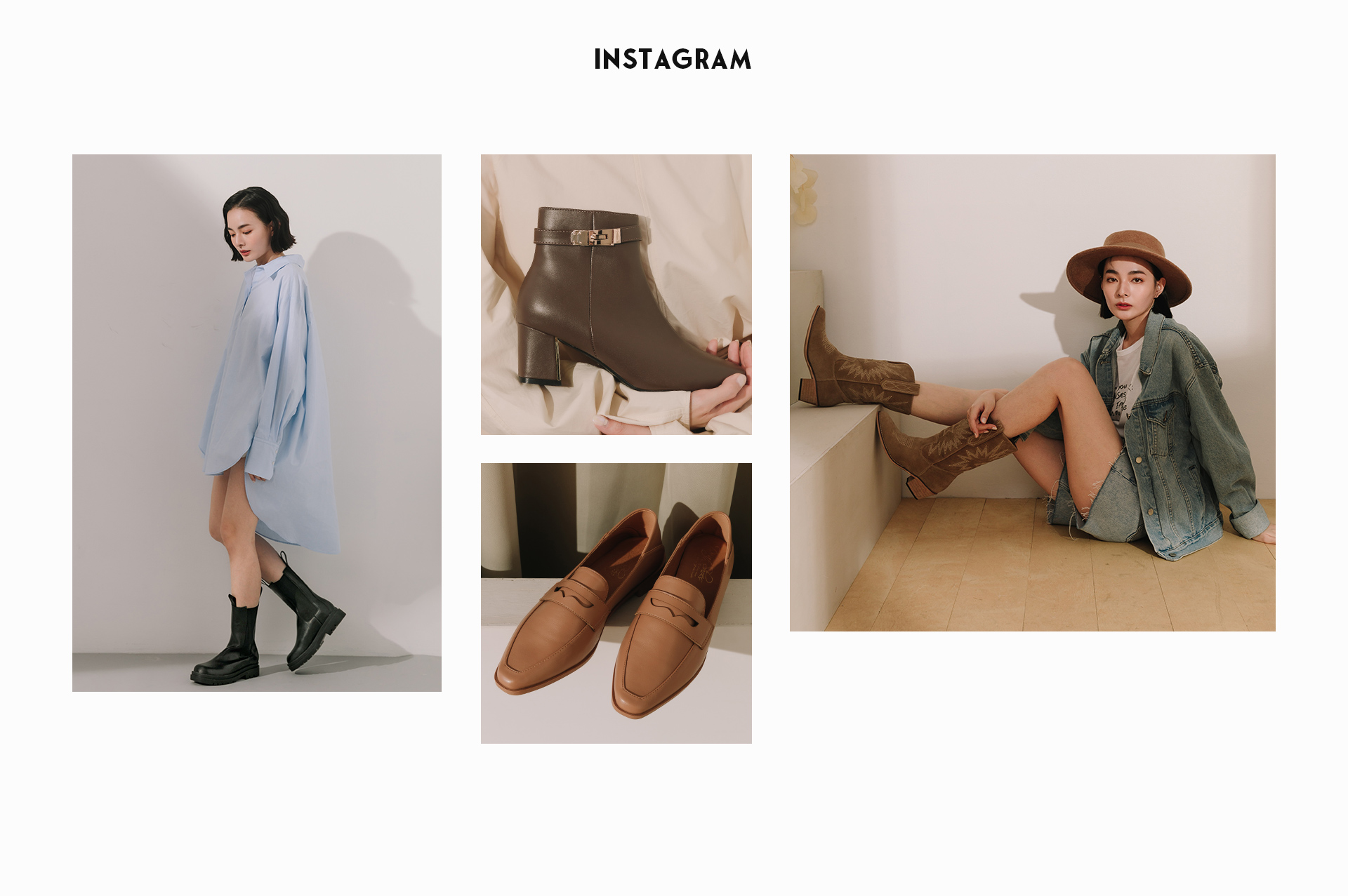 探索更多2020秋冬流行女鞋趨勢 D+AF instagram