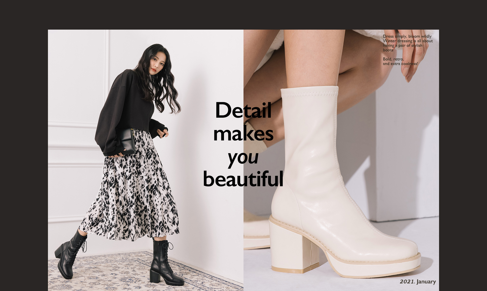 2021流行女鞋 女靴 短靴 綁帶靴 新上市靴