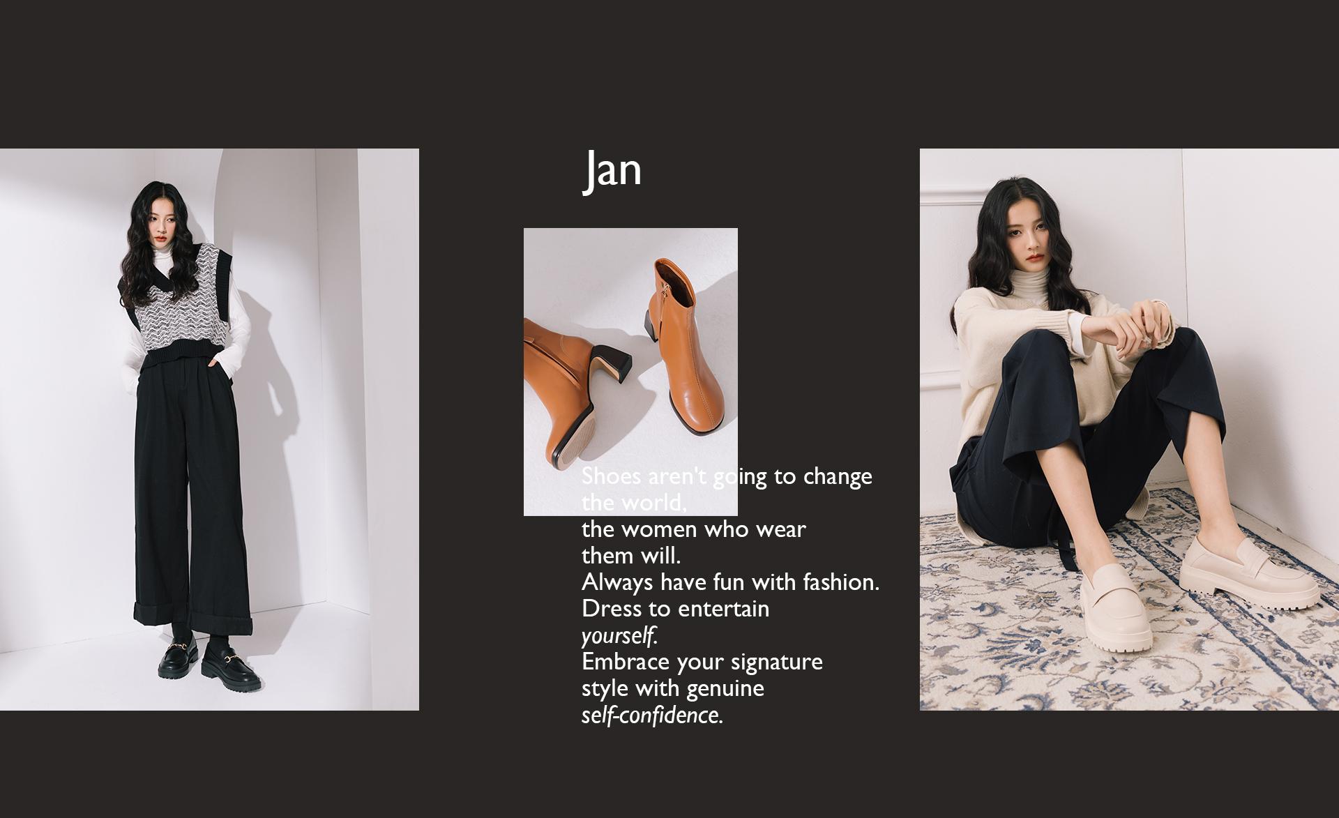 2021靴子(女)推薦 樂福鞋 短靴 長靴 綁帶長靴