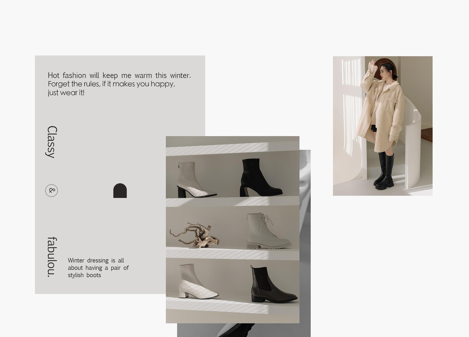 探索更多2021流行女鞋 女靴 流行趨勢 襪靴 短靴 白靴 長靴
