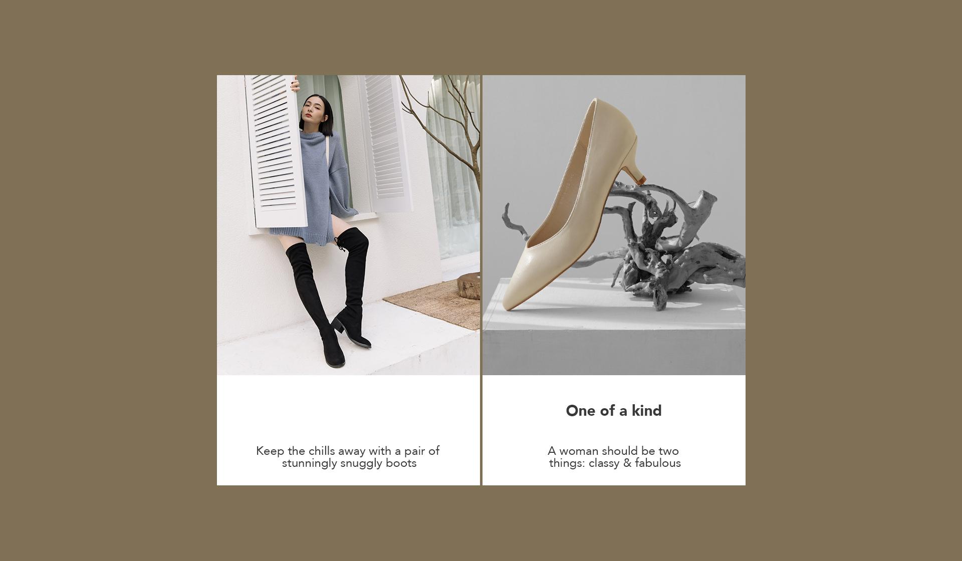 D+AF 女靴(鞋)推薦 跟高鞋 長靴 過膝靴 2021