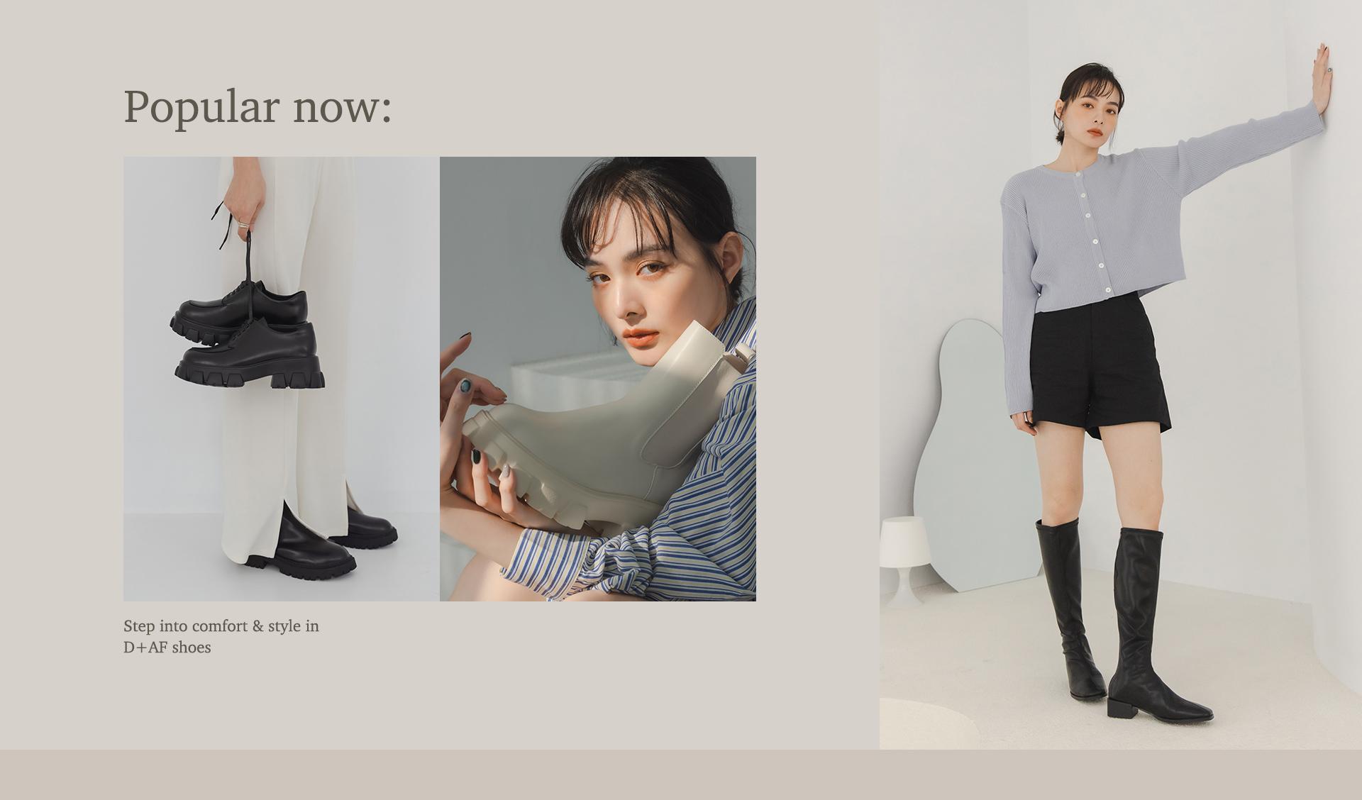 2021女靴新品熱銷榜 鬆糕鞋 雨靴 長靴