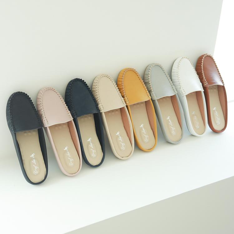 D+AF MIT國民鞋 豆豆穆勒鞋