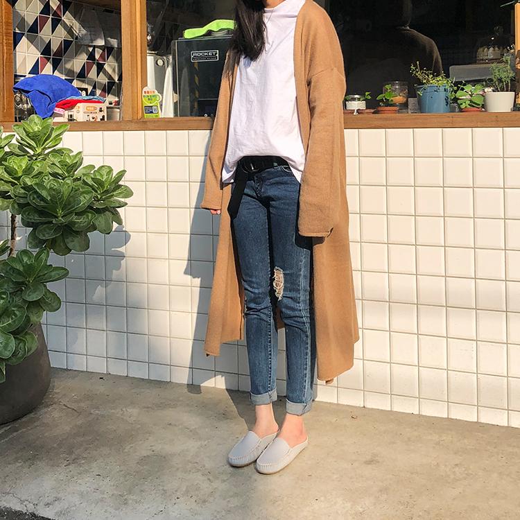 D+AF台灣製豆豆穆勒鞋