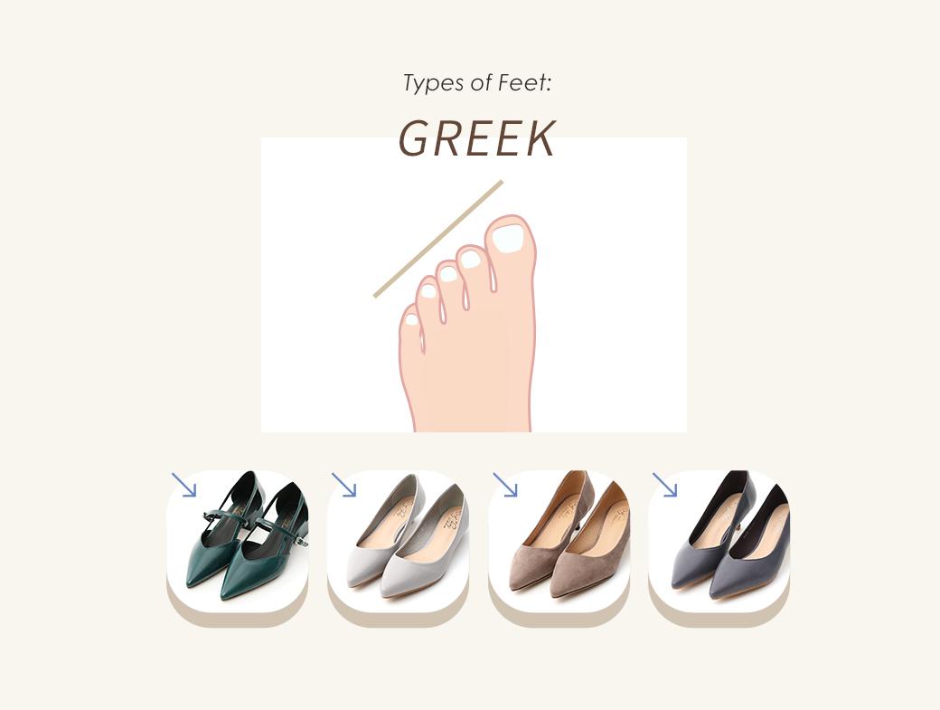 D+AF 瞭解自己適合什麼鞋款 埃及腳 羅馬腳 希臘腳