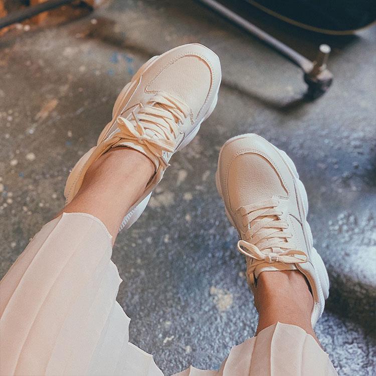 D+AF小熊鞋底真皮老爹鞋 運動鞋 休閒鞋