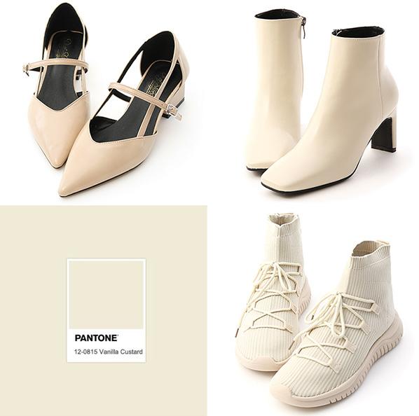 D+AF 秋冬靴 襪靴 白色靴 靴子 流行色鞋款 流行鞋款
