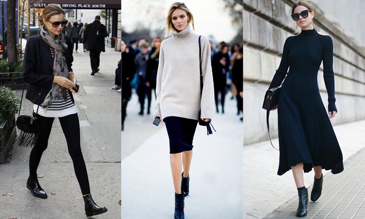 秋冬必備短靴 黑靴穿搭