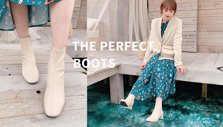 短靴女 短靴品牌D+AF