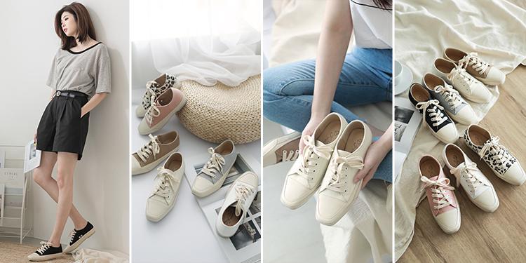 D+AF 休閒鞋 帆布鞋