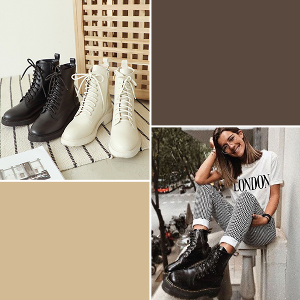 馬汀靴穿搭 馬汀靴推薦 馬丁靴女