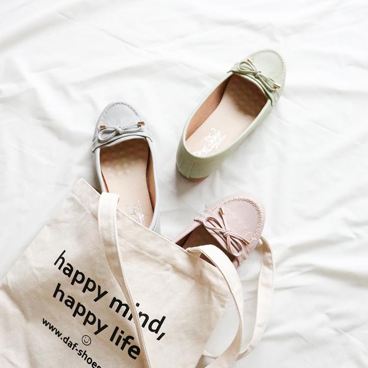 D+AF MIT流蘇造型樂福健走鞋