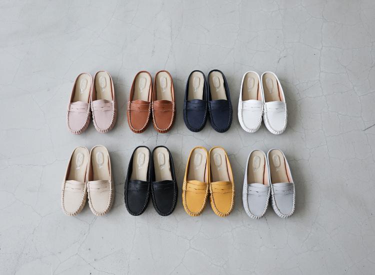 D+AF MIT經典款豆豆穆勒鞋