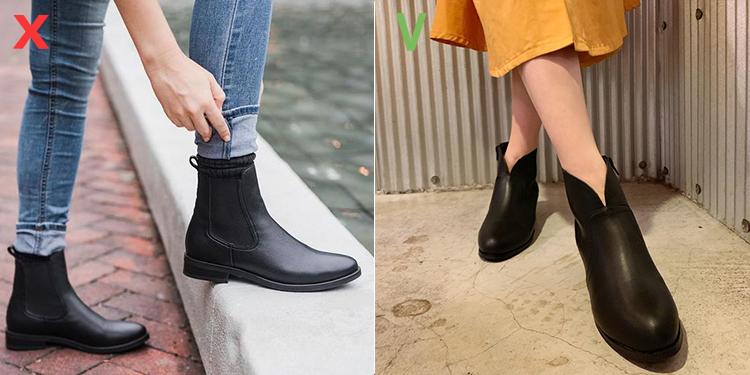 秋靴 靴子 V口短靴 短靴 D+AF