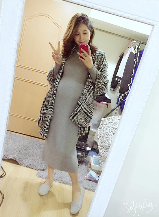 fifi x 陳佳瑜孕婦穿搭 38週 39週 孕婦鞋 舒適鞋推薦