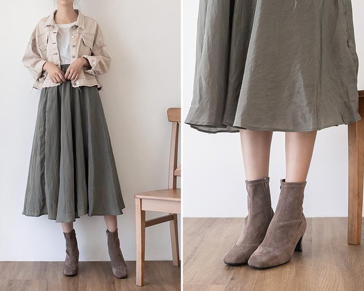 奶茶色 奶茶靴 奶茶色鞋子穿搭 奶茶短靴 襪靴穿搭 麂皮靴 麂皮靴穿搭