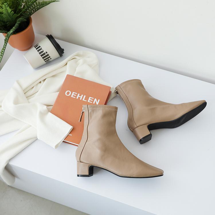 奶茶色 奶茶靴 奶茶色鞋 短靴 奶茶短靴